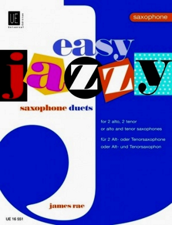 EASY JAZZY SAXOPHONE DUETS