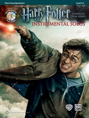 HARRY POTTER Instrumental Solos Piano Accompaniment
