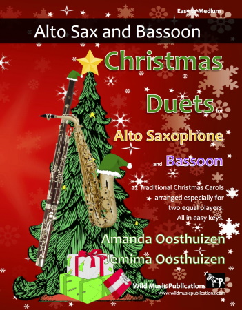 CHRISTMAS DUETS for Alto Saxophone & Bassoon