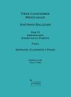 TRES CANCIONES MEXICANAS