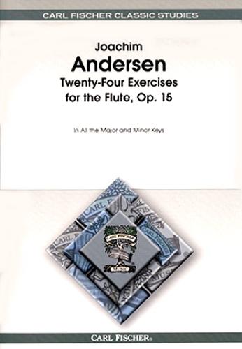 TWENTY-FOUR EXERCISES for the Flute Op.15