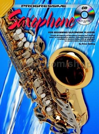 PROGRESSIVE SAXOPHONE METHOD Book 1 + CD