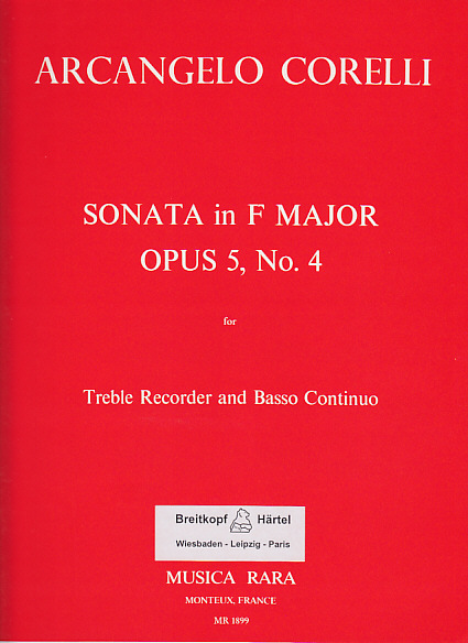 SONATA in F Op.5 No.4