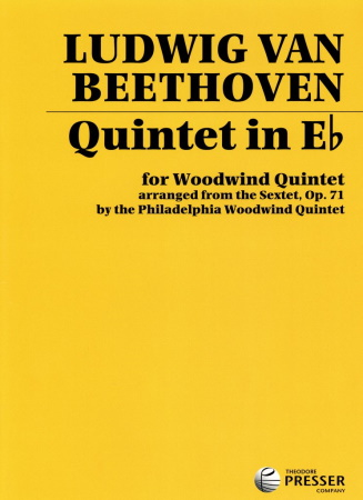 QUINTET in Eb (from Sextet Op.71)