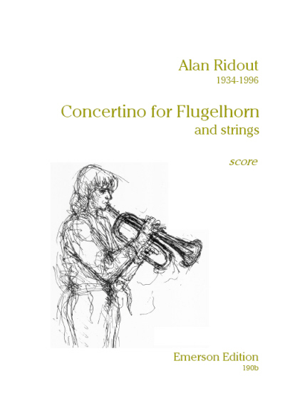 CONCERTINO FOR FLUGEL HORN score