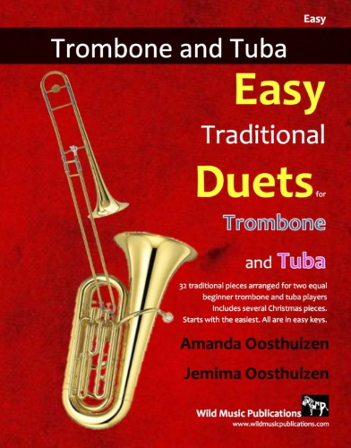 EASY TRADITIONAL DUETS for Trombone & Tuba