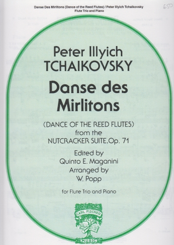 DANCE OF THE REED FLUTES (score & parts)