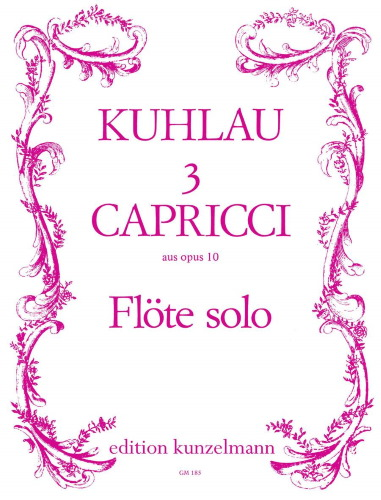 3 CAPRICCI from Op.10