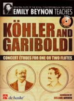 KOHLER AND GARIBOLDI Concert Etudes + CD