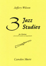 THREE JAZZ STUDIES with chord symbols
