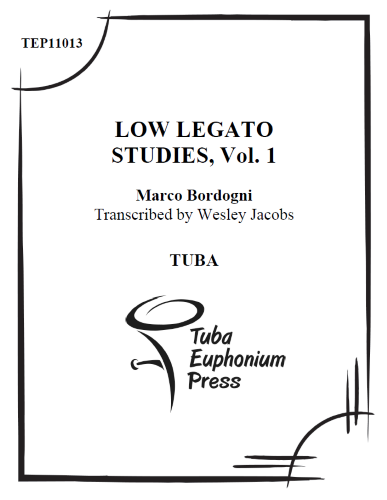 LOW LEGATO STUDIES Volume 1