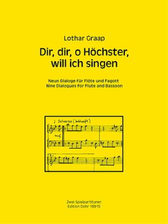 DIR, DIR O HOCHSTER, WILL ICH SINGEN