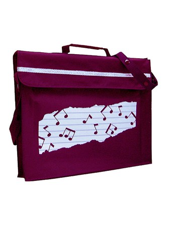 MUSIC BAG Primo (Maroon)