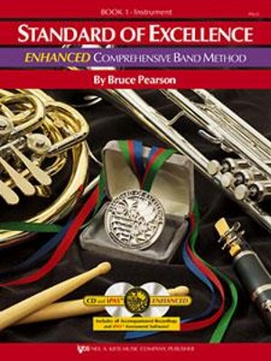 STANDARD OF EXCELLENCE Book 1 Enhanced Edition + CD Drums & Mallet Percussion