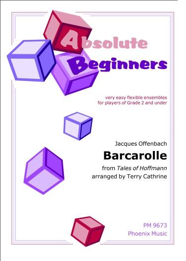 BARCAROLLE (score & parts)