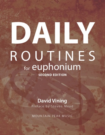 DAILY ROUTINES for Euphonium (bass clef)
