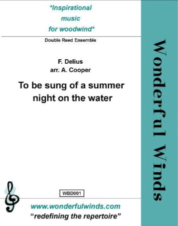 TO BE SUNG OF A SUMMER NIGHT ON THE WATER