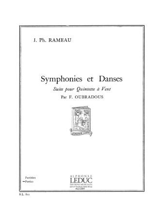 SYMPHONIES ET DANSES (set of parts)