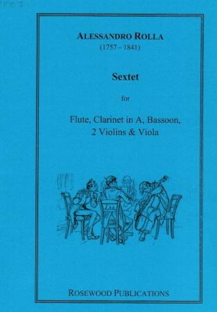 SEXTET (score & parts)
