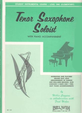 TENOR SAX SOLOIST with accompaniment