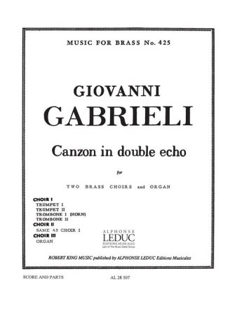 CANZON IN DOUBLE ECHO