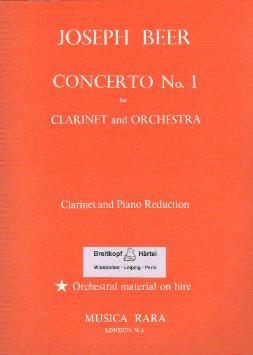 CONCERTO No.1 Op.1