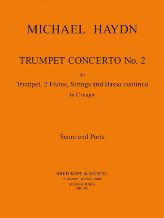 CONCERTO No.2 in C major (score & parts)
