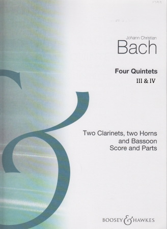 FOUR QUINTETS III & IV (score & parts)