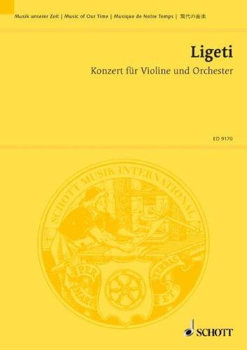 CONCERTO for Violin & Orchestra (study score)