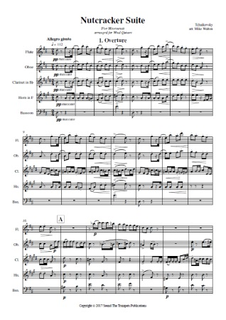 NUTCRACKER SUITE (score & parts)