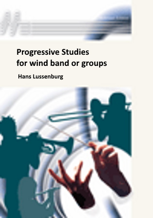 PROGRESSIVE STUDIES for wind band or groups - parts