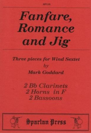 FANFARE, ROMANCE AND JIG (score & parts)