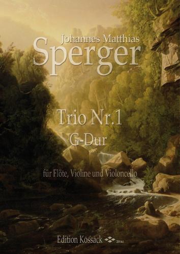 TRIO No.1 in G major (score & parts)