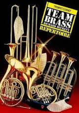 TEAM BRASS REPERTOIRE treble clef