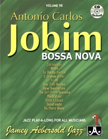 ANTONIO CARLOS JOBIM Bossa Nova Volume 98 + CD