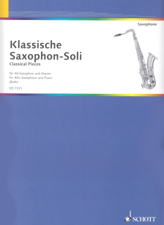 CLASSICAL SAXOPHONE SOLOS