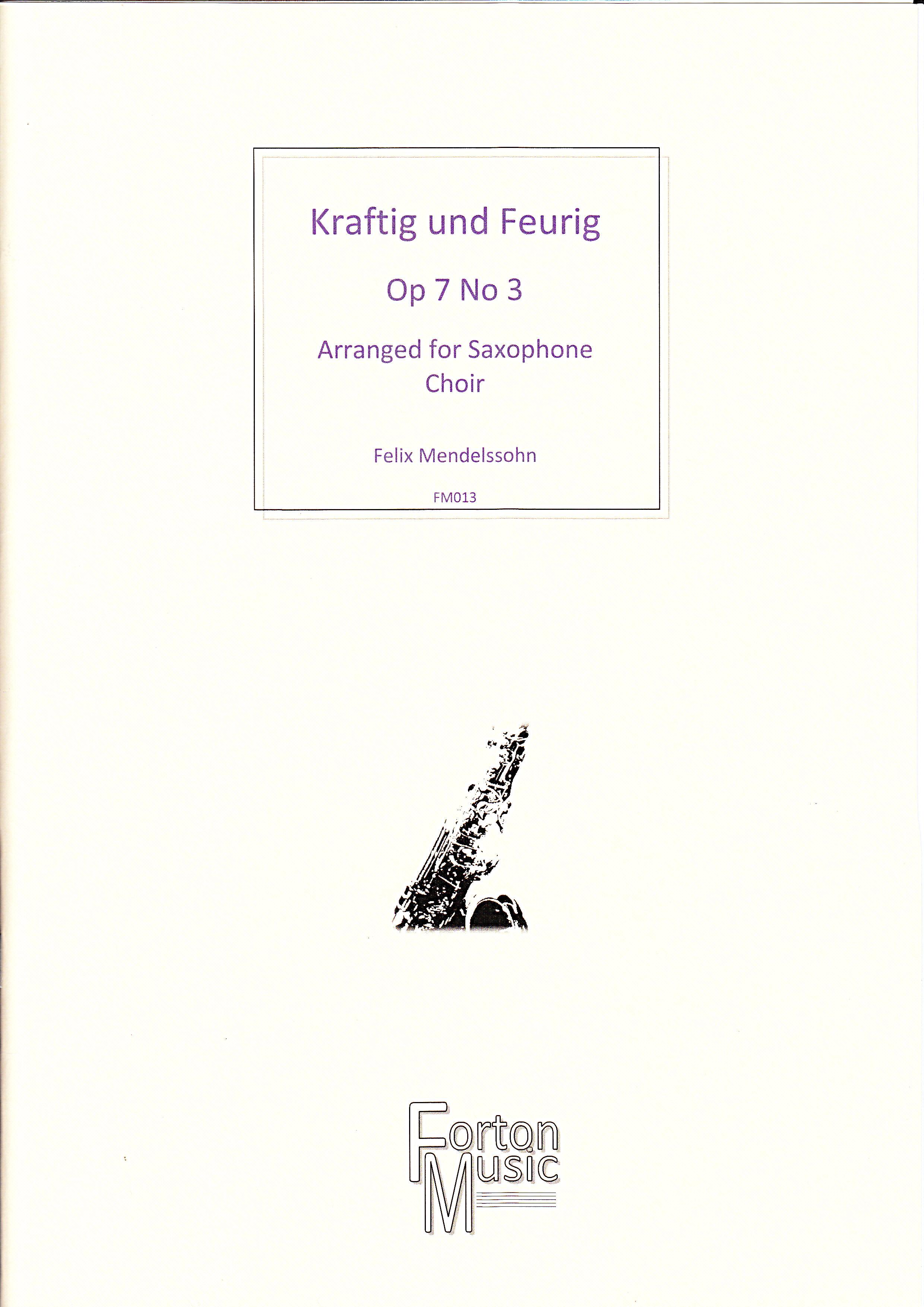 KRAFTIG UND FEURIG Op.7 No.3