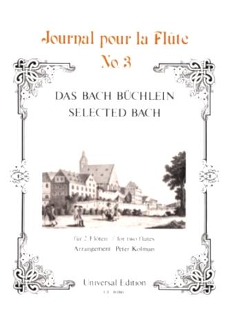 SELECTED BACH - Journal pour la Flute No.3