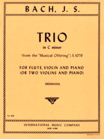 TRIO in c minor from the 'Musical Offering'