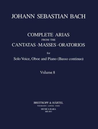 COMPLETE ARIAS & SINFONIAS Oboe: Volume 8