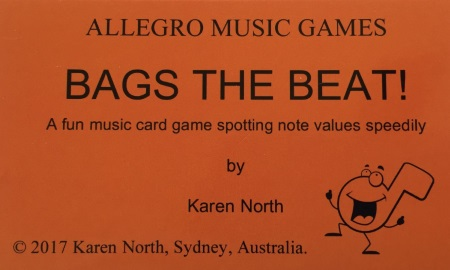 BAGS THE BEAT! Card Game