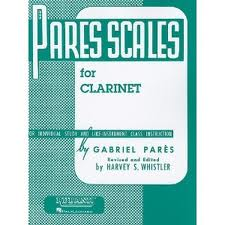 PARES SCALES FOR CLARINET