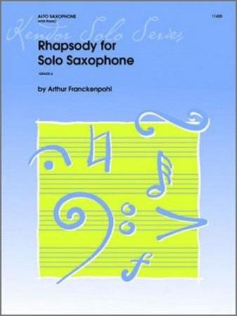 RHAPSODY for Solo Saxophone