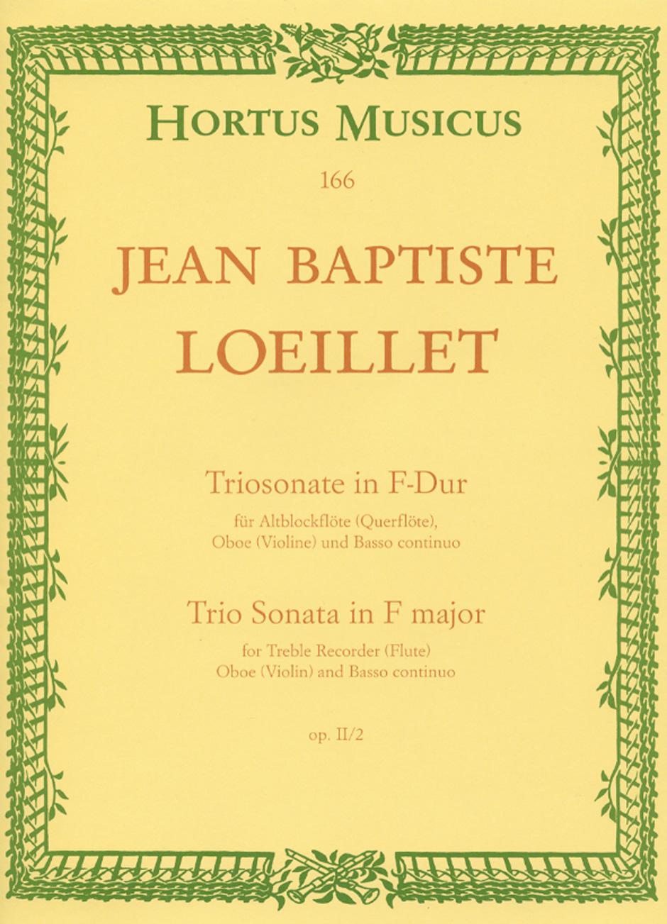 TRIO SONATA in F major Op.2 No.2