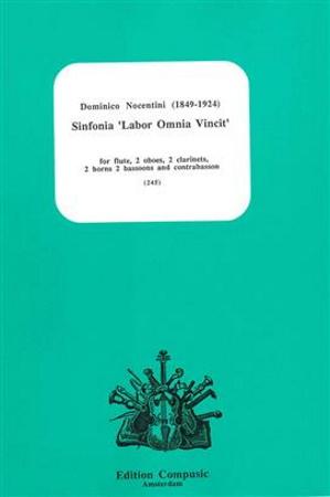 SINFONIA 'Labor Omnia Vincit' (score & parts)