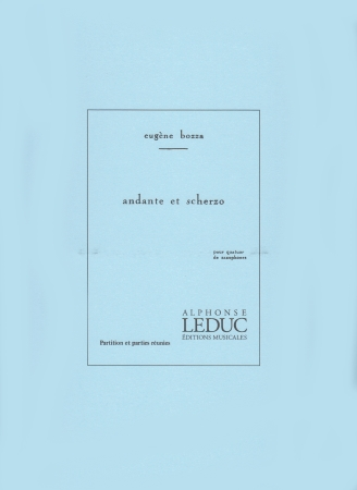 ANDANTE ET SCHERZO (score & parts)