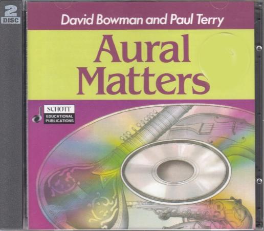AURAL MATTERS CDs