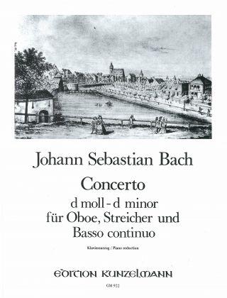 CONCERTO in D minor BWV1059