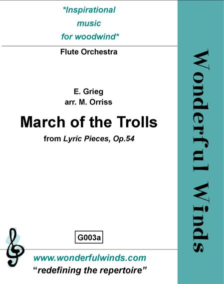 MARCH OF THE TROLLS (score & parts)