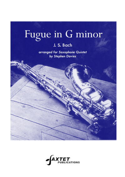 FUGUE in G minor BWV542 (score & parts)